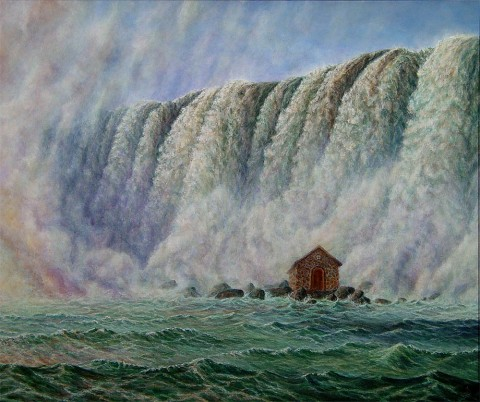 """""""Flow"""", 2006, Painting in Acrylics on Canvas, 20"""" x 24"""", by David Jay Spyker"""