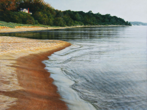 The Last Days of Summer, 2014, Acrylic on Hardboard, 9 x 12 in., by David Jay Spyker